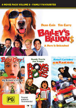 4 Movie Pack Volume 9 - Family Favourites (Bailey's Billion$ / Bug Off / Boys will be Boys / Breakout) - Brianna Shipley