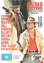 Big Bad Westerns Movie Collection : Volume 1 (12 Movies, 4 Discs) - Lee Van Cleef