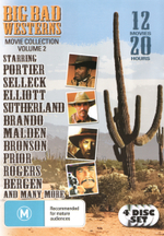 Big Bad Westerns Movie Collection : Volume 2 (12 Movies, 4 Discs) - Dan Haggerty