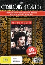 The Fabulous Forties (50 Movies) (Port of New York/Guest in the House/Jungle Book/Treasure of Fear/Gung Ho!/Shock/The Immortal Battalion/The Chase) - Hedy Lamarr