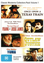 Classic Westerns Collectors Pack Volume 1 (Once Upon a Texas Train / The Last Days of Frank and Jesse James / Outlaw Justice / Yuma) - Clint Walker