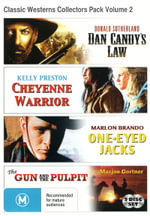 Classic Westerns Collectors Pack Volume 2 (Dan Candy's Law / Cheyenne Warrior / One-Eyed Jacks / The Gun and the Pulpit) - Dan Haggerty