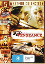 5 Western Collection : (Kid Vengeance / Joshua /Four Rode Out / Cry Blood, Apache / Fighting Caravans) - Jody McCrea