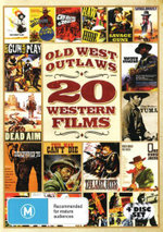Old West Outlaws : (20 Western Films) - Clint Walker