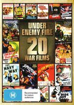 Enemy Under Fire, 20 War Films - David NivenBoris Karloff