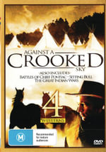 4 Westerns : Against a Crooked Sky / Battles of Chief Pontiac / Sitting Bull / The Great Indian Wars - Richard Boone