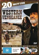 Western Vengeance : 20 Tales of Retribution - Clint Walker
