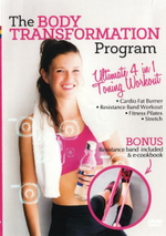 The Body Transformation Program (Bonus Resistance band) : Limited Edition with Pilates Band - Rocco Sorace