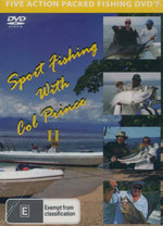 Sport Fishing with Col Prince II : 5 DVD Set