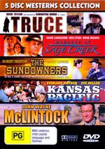 Truce/Sage Creek/The Sundowners/Kansas Pacific/McLintock - Samantha Droke