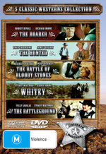 5 Movie Collection : The Roarer/The Hunted/The Battle of Bloody Stones/Whitey/The Battleground