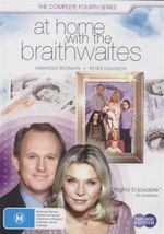 At Home With The Braithwaites : The Complete Fourth Series - Amanda Redman