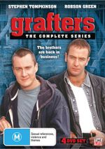 Grafters : The Brothers Are Back In Business! - The Complete Series - Robson Green