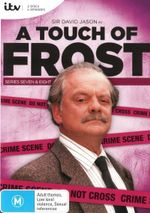 A Touch of Frost : Series 7 & 8 : 2 Disc Set - David Jason