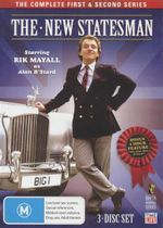 The New Statesman : The Complete First & Second Series - Bonus 1 Hour Feature 'Who Shot Alan B'Stard?' - Rik Mayall