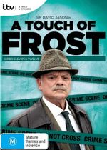 A Touch of Frost : Series 11 & 12 : 4 Disc Set - John Lyons