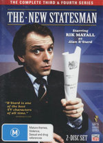 The New Statesman : The Complete Third & Fourth Series - Rik Mayall