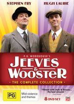 Jeeves and Wooster : The Complete Collection - Stephen Fry