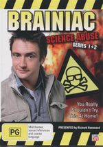 Brainiac  : Science Abuse : You Really Shouldn't Try This At Home - Series 1 + 2 - Peter Eyre