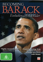 Becoming Barack : Evolution of a Leader