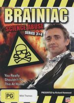 Brainiac  : Science Abuse : You Really Shouldn't Try This At Home - Series 3 + 4 - Peter Eyre