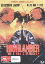 Highlander : The Final Dimension : Special Director's Cut - Christopher Lambert
