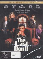 The Last Don 2 : The Complete Miniseries - Power, Passion, Betrayal, It's All In The Family - Jason Gedrick