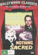 Nothing Sacred : A Great Classic Screwball Comedy - Carole Lombard