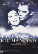 The Snows of Kilimanjaro : Close To Death, There's Only One Woman In His Life! - Gregory Peck