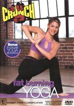 Crunch : Fat Burning Yoga - Sara Ivanhoe