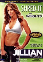 Jillian Michaels : Shred With Weights - Jillian Michaels