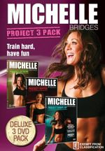 Michelle Bridges : Project 3 Pack ( Michelle Bridges Project Extreme / Project Ripped / Project Shape-Up) - Michelle Bridges