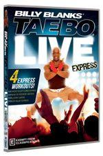 Billy Blanks : Tae Bo Express Live - Billy Blanks