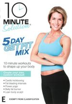 10 Minute Solution : 5 Day Get Fit Mix - Amy Bento