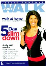 Leslie Sansone : Just Walk - 5 Day Slim Down - Leslie Sansone