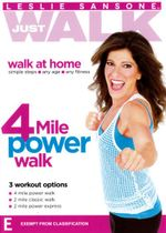 Leslie Sansone : Just Walk 4 Mile Power Walk - Leslie Sansone