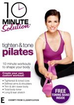 10 Minute Solution : Tighten and Tone Pilates with band - Lara Hudson