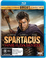 Spartacus : War of the Damned: Season 3 (Uncut) - Liam McIntyre
