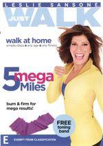 Leslie Sansone : Just Walk - 5 Mega Miles (Bonus Toning band) - Leslie Sansone