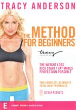 Tracy Anderson : The Method for Beginners - Tracy Anderson