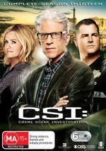 CSI : Season 13 - George Eads