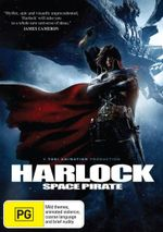 Harlock Space Pirate - Chikao Ohtsuka