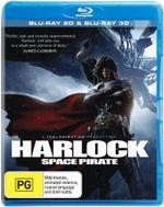 Harlock Space Pirate (3D Blu-ray/Blu-ray) - Chikao Ohtsuka
