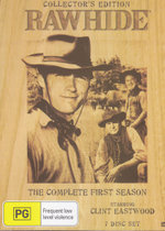 Rawhide : Season 1 (Collector's Edition) (Wood Pack) - Robert Cabal