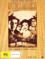 Gunsmoke : Season 1 (Wood Pack) - James Arness