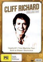 Cliff Richard Collection (Heathcliff/Time Machine Tour/Bold as Brass/Soulicious) (4 Discs) - Freda Payne