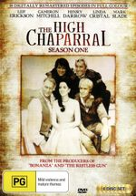 The High Chaparral : Season 1 - Leif Erickson