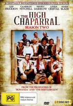 The High Chaparral : Season 2 - Leif Erickson