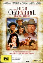 The High Chaparral : Season 3 - Leif Erickson
