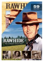 Rawhide : The Complete Collection (59 Discs) - Eric Fleming